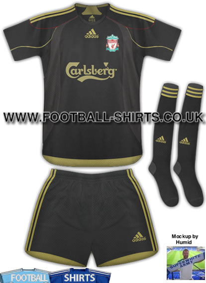 Black Gold Liverpool 2009/10 Shirt ?